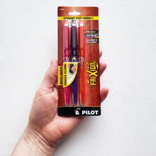 Frixion Heat Erasable Pens from Pilot