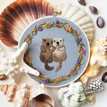 Otterly Adorable Embroidery Kit