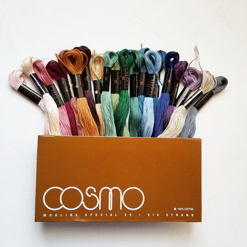 Lecien Cosmo Cotton Floss Bundles (4 seasons)