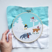 Polar Pals Hand Embroidery Kit