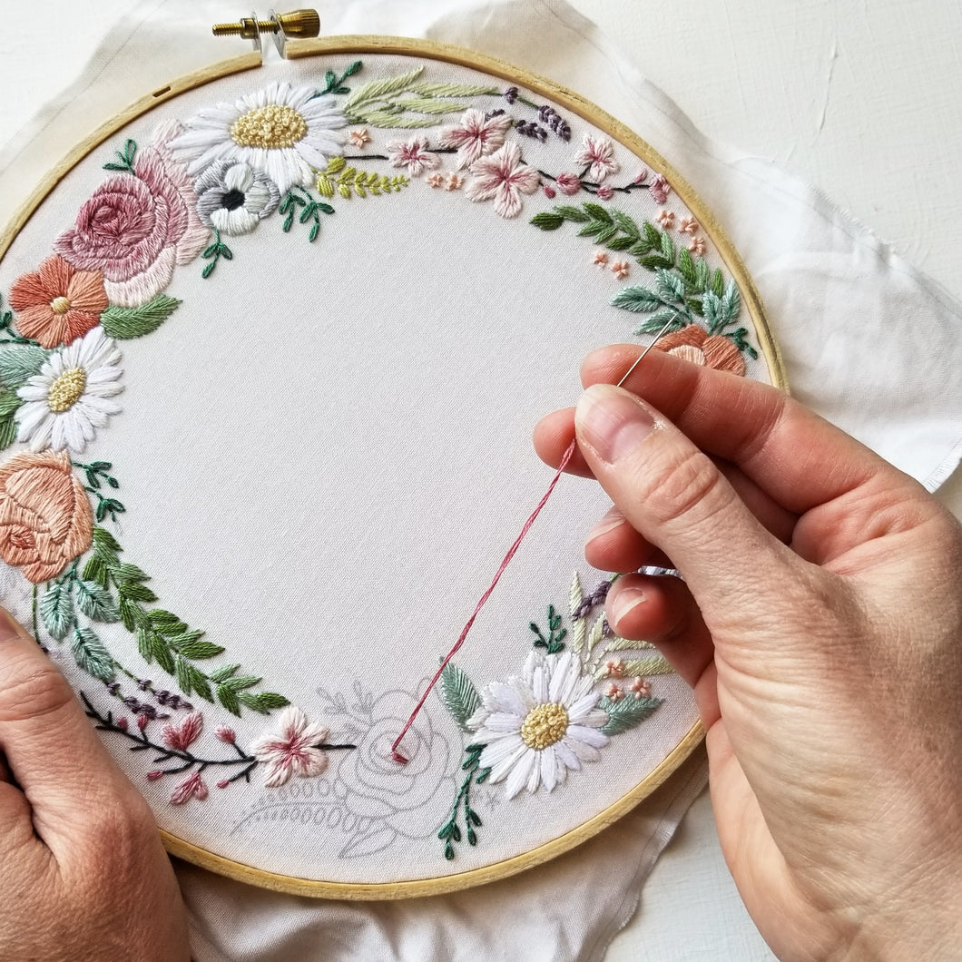 Ever After Embroidery Pattern (PDF)
