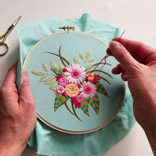 Fresh Blooms Embroidery Pattern (PDF)