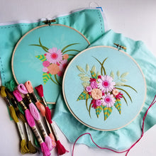 Fresh Blooms Embroidery Kit