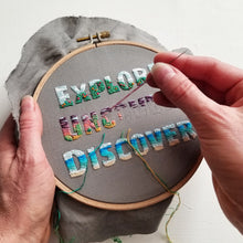 EXPLORE Full Embroidery Kit