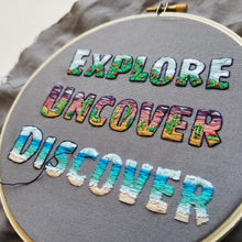 EXPLORE Embroidery Pattern (PDF)