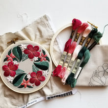 Floral Flourish Embroidery Kit