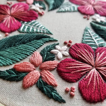 Floral Flourish Embroidery Pattern (PDF)