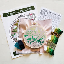 Blissful Blooms Embroidery Kit