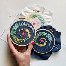 Spiral Sampler Beginner Embroidery Kit
