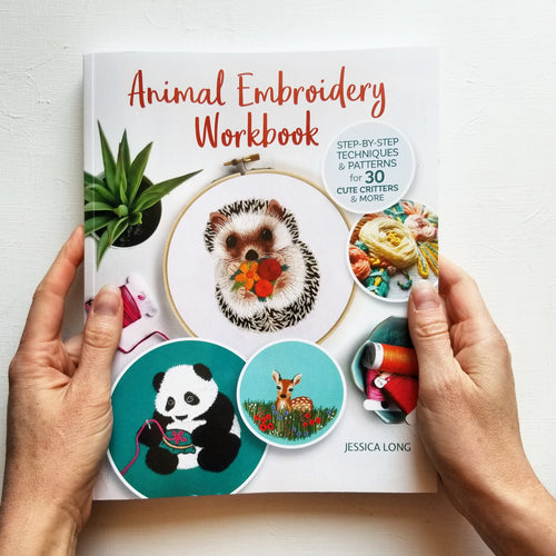 Animal Embroidery Workbook