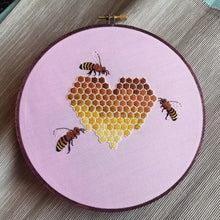 HoneyBee Love Embroidery Kit
