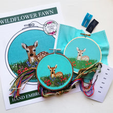 Wildflower Fawn Embroidery Kit