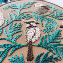 Winter Birds Embroidery Kit