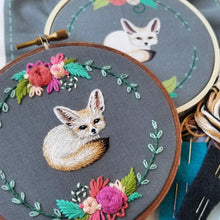 Fennec Fox Embroidery Kit