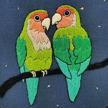 Love Birds Embroidery Kit