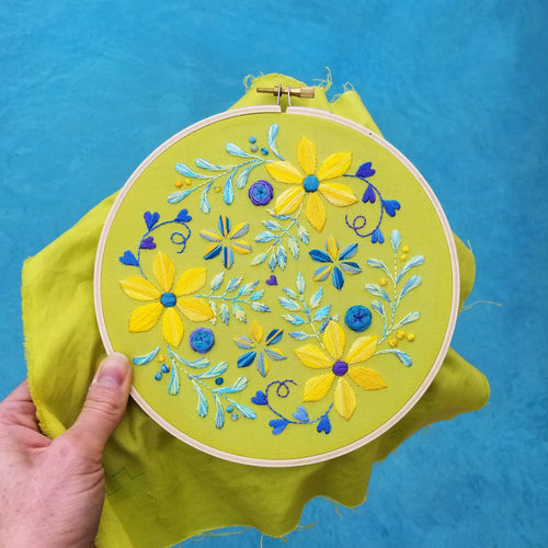 Sunshine Day Embroidery Pattern (PDF)