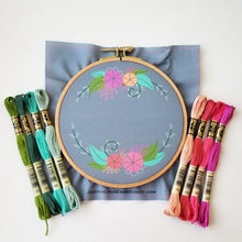 Words to Bloom By Embroidery Kit