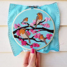 Spring Birds Embroidery Pattern (PDF)