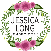 Printed Fabric: Jessica Long Embroidery Designs
