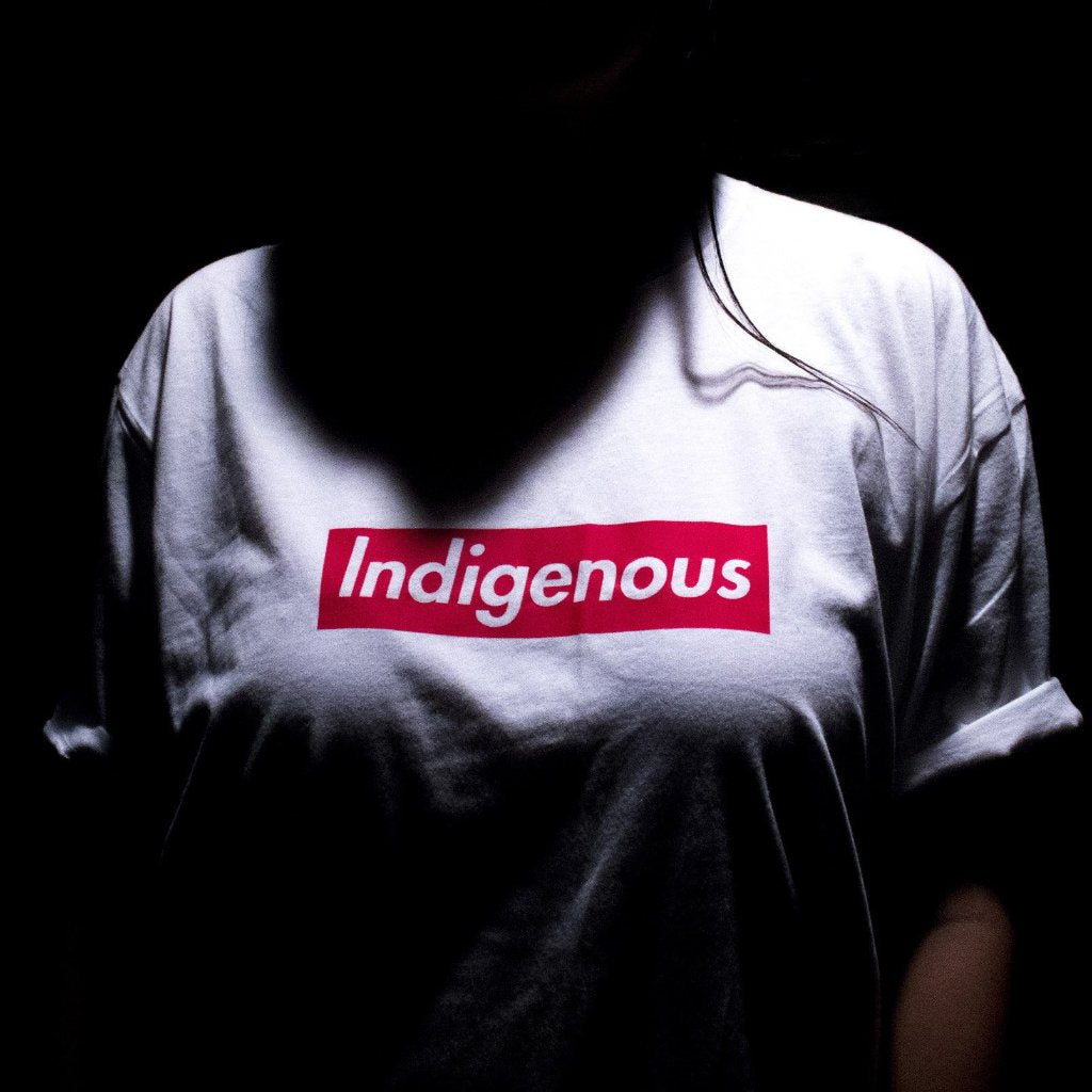 Indigenous Box Logo White