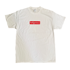 Silhouette Indigenous T White