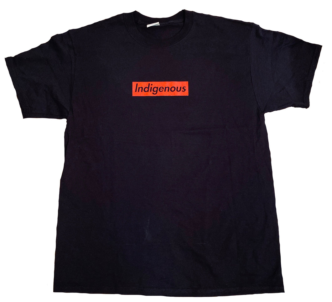 Indigenous Box logo Black