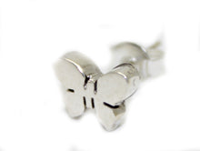 Butterfly .925 Sterling Silver Stud Earring - Butterfly Stud Earrings Mexico Taxco Silver
