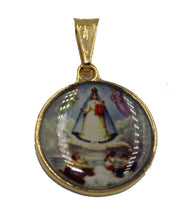 Caridad del Cobre Medalla with 18 inch Chain - Our Lady of Charity Medal