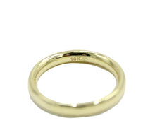 Comfort Fit Wedding Ring Band 10k Gold Ring - Woman & Men Wedding 10k Gold