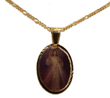 Cristo Misericordioso Medal18k Gold Plated with 18 Chain - Merciful Christ Medal