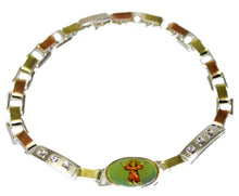 Divino Niño Silver Plated 7 inch Bracelet