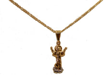 Divino Niño Pendant 18k Gold Plated with 18 inch Chain - Christ Child Pendant