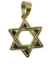 Star of David Pendant 18K Gold Plated with 20 inch Chain - David's Star Necklace