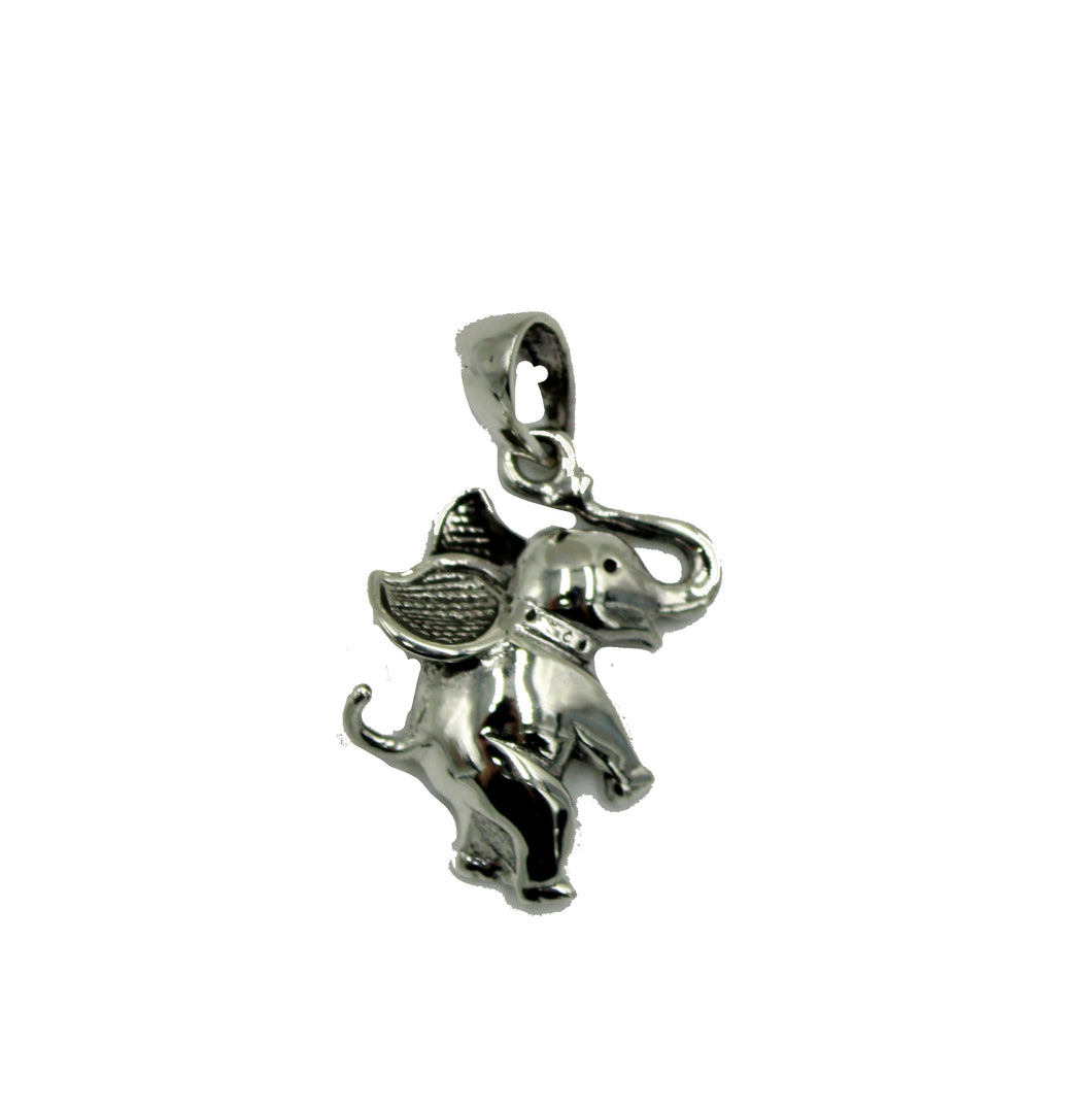 Elephant .925 Sterling Silver Pendant - Elephant .925 Sterling