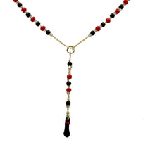 Figa Hand Azabache Necklace 18k Gold Plated - Azabache Necklace 16 inch