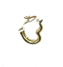 Heart Hoop 14k Yellow Gold - Heart 1.5mm Width 14k Yellow Gold