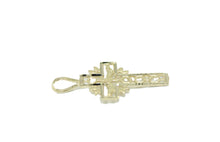 Holy Spirit Cross - Espiritu Santo Cruz 14k Yellow Gold - Holy Spirit 14k Gold
