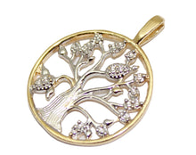 Tree of Life Pendant 18k Gold Plated with 20 inch Chain - Tree of Life Necklace