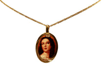 Immaculate Conception - Purisima Concepcion De Maria Medal 14k Gold Plated