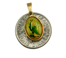 St. Jude Thaddeus Medal - San Judas Tadeo 18k Gold Plated with 18 inch Chain