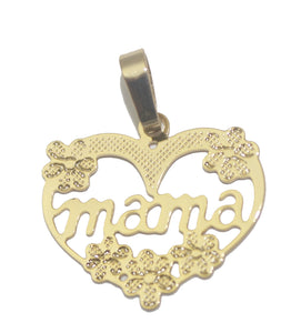 Mama Pendant with 20 inch Chain - Mama Pendant Necklace - Mother's Gift Necklace
