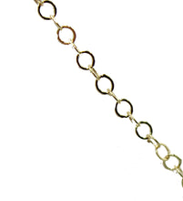 Circle Link Chain 3mm 18k Gold Plated Fashion Chain - Circle Link Chain