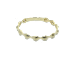 Wave Fashion Ring 14k Gold Size 5 to 8 - Band Ring 14k Gold