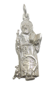 San Benito Medal .925 Sterling Silver Mexico Taxco Silver - St Benedict Silver