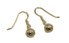 Soccer Ball Dangle Earrings .925 Sterling Silver - Soccer Ball Earrings