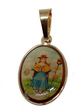 Santo Niño de Atocha 18k Gold Plated Pendant with 20 inch - Holy Child Atocha