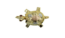 Turtle Pendant 14k Solid Yellow Gold - Turtle Charm Pendant 14k Solid Gold