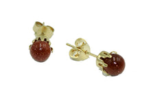 Venturina Round 5mm Ball Earrigs 18k Gold Plated - Venturina 5mm Stud Earrings