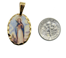 Virgen Del Valle Medalla Venezuela - Our Lady of the Valley Medal with Chain