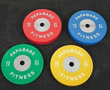 35lb Competition Rubber Olympic Bumper Plates, 2 inch-Gains Everyday